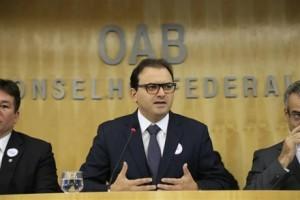 Presidente lembrou Dia Nacional de Luta da Pessoa com Deficiência (Foto: Eugenio Novaes - CFOAB)